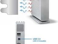 d2 Thunderbolt & USB 3.0, 3TB, 4TB 7200RPM s Thunderbolt kablom